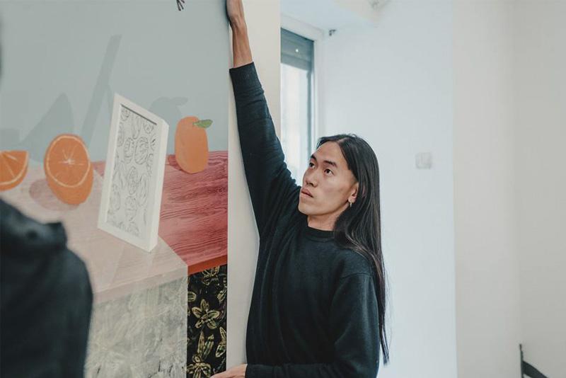 An Wei: la historia detrás de la servilleta